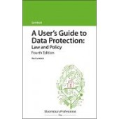 A User's Guide to Data Protection: Law and Policy - ISBN 9781526515704