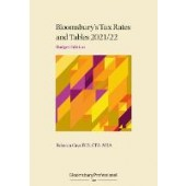 Tax Rates and Tables 2021/22: Budget Edition - ISBN 9781526520111
