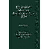 Chalmers' Marine Insurance Act 1906 - ISBN 9781780431253