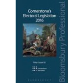 Cornerstone's Electoral Legislation 2016 - ISBN 9781784512613