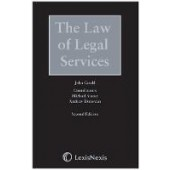 Law of Legal Services, The - ISBN 9781784734350
