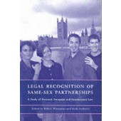 Legal Recognition of Same-sex Partnerships: A Study of National, European and International Law - ISBN 9781841131382