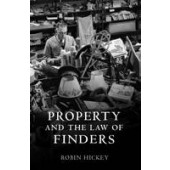 Property and the Law of Finders - ISBN 9781841135755