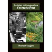 An Index to Common Law Festschriften - ISBN 9781841136417