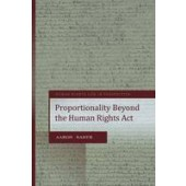Proportionality Under the UK Human Rights Act - ISBN 9781841137438