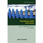 Boundaries, Walls and Fences - ISBN 9781847037916