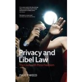 Privacy and Libel Law - ISBN 9781847669025