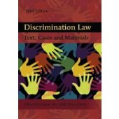 Discrimination Law: Text, Cases and Materials - ISBN 9781849462464
