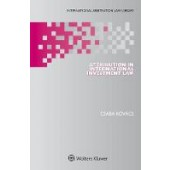 Attribution in International Investment Law - ISBN 9789041196750
